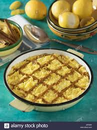 dessert portugais cuisine aletria portuguese pasta dessert portugal food stock photo