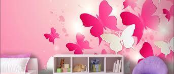 kinderzimmer tapete m dchen gardinen kinderzimmer rosa mit pilz motive