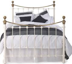 kingsize iron and brass bed obc selkirk by original bedstead company