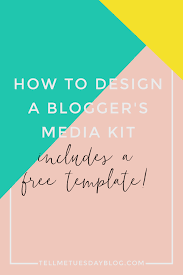 Indesign Template Free Deck How To Design A Blogger U0027s Media Kit Plus Free Template