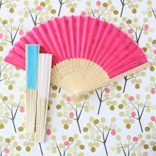 silk fan asian fan color fan silk fan