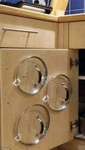 kitchen storage ideas for pots and pans best 25 pot storage ideas on storing pot lids pot