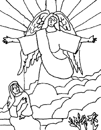 angel visits joseph dream coloring coloring pages ideas