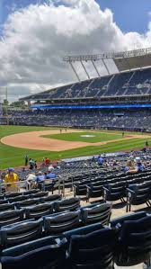 Kauffman Stadium Map Kauffman Stadium Section 214 Home Of Kansas City Royals