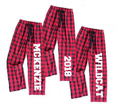 personalized buffalo plaid flannel for the whole family