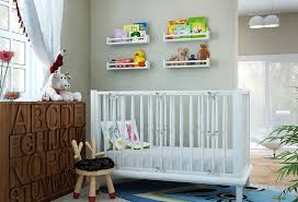 Wall Bookshelves For Nursery by Wall Shelves For Baby Room
