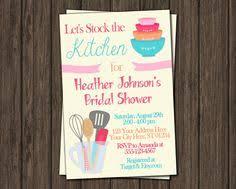 Kitchen Bridal Shower Ideas This Is A Cute Invite U2026 Pinteres U2026