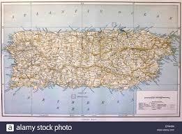 Map Puerto Rico Map Puerto Rico Stockfotos U0026 Map Puerto Rico Bilder Alamy