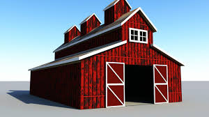 maya 2016 tutorial how to model a classic red barn youtube