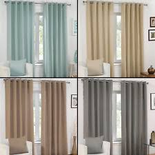 Whitworth Duck Egg Lined Curtains Polyester Eyelet Top Curtains Ebay
