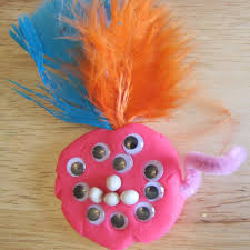 boredom buster idea for kids play dough monsters time