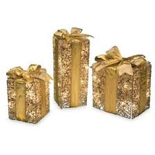 lighted christmas present boxes gift boxes polyvore
