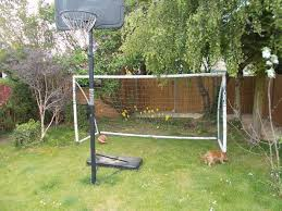 samba football goal post 12ft x 6ft dismantled and in original