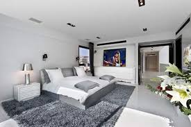 Gray And Purple Bedroom by Grey And White Bedroom Designs Photos And