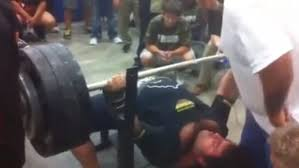 Olympic Record Bench Press High Senior Breaks State Record With 700 Pound Bench Press