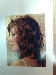 nice hairstyle for short medium hair with one hair band wavy haircut side 1 curly hair pinterest wavy haircuts