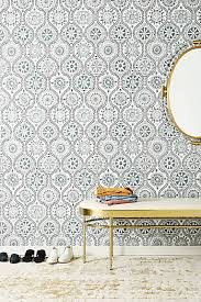 Temporary Wallpaper Uk Wallpaper Anthropologie