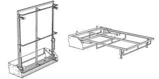 mécanisme canapé convertible systeme lit escamotable canapé convertible literie
