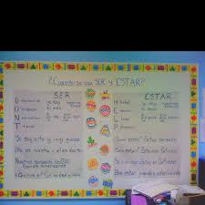 27 best ser y estar images on pinterest spanish grammar spanish