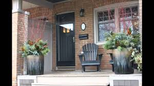 Planter S House by Toronto Winter Planters And Decorations Youtube