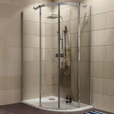 Shower Tray And Door by Cooke U0026 Lewis Luxuriant Offset Quadrant Lh Shower Enclosure Tray