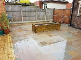 Indian Sandstone Patio by Camel Dust Sandstone Mixed Size Patio Pack 359 99 Per Pack Inc
