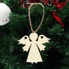aliexpress com buy 10pcs lot plywood wooden angel shape