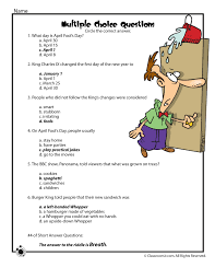 Charles Worksheet Answer Key The History Of April Fools Day Reading Comprehension Answer Key