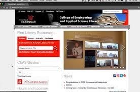 University Of Cincinnati Help Desk Engineering U0026 Applied Science University Of Cincinnati