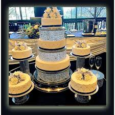 cupcake stand with led lights wedding crystal acrylic cake stand or separator 3 tiers and 4 tiers