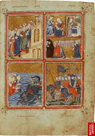 santa haggadah 64 golden haggadah of liberation ca 3 early europe