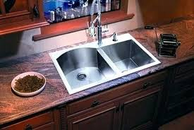 overmount sink on granite overmount sink sink with granite top mount sink granite install