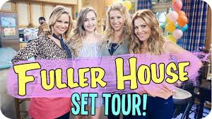 House M D Cast by Fuller House Set Tour U0026 Meeting The Cast Youtube