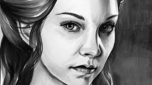 copic markers black friday game of thrones margaery tyrell copic marker drawing youtube