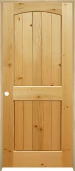 Knotty Pine Interior Doors Mastercraft Knotty Pine Arched Plank 2 Panel Prehung Interior