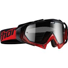 Thor Hero Red Black Motocross Goggles Clearance Ghostbikes Com