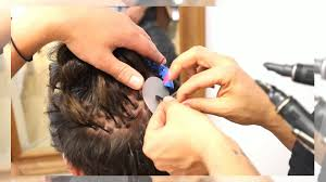 hairstyles for bonded extentions keratin bond hair extensions application on a male youtube