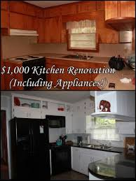 black and white appliance reno the kitchen is officially finished 1 000 reno including