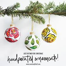 painted ornaments by khail khail watercolors