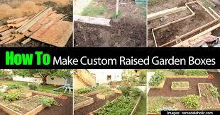 How To Build A Raised Garden Bed Cheap Garden Design Garden Design With How To Make A Raised Garden Bed