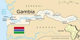 africa map gambia sydney s africa gambia