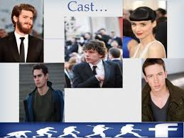 the social cast the social network a movie review