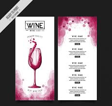 wine brochure template 50 free restaurant menu templates food flyers covers psd vector