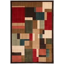 Brown Area Rugs Shop Mohawk Home Patton Brown Indoor Inspirational Area Rug