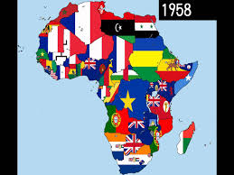 Africa Colonial Map by Africa Timeline Of National Flags Part 1 Youtube