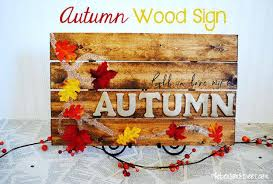 fall signs and sayings autumn wood sign pallet project ideas nifty