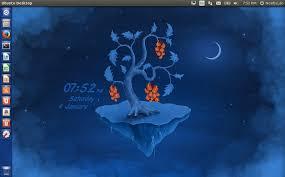 ubuntu glass wallpapers slidewall live wallpaper application install in ubuntu linux mint