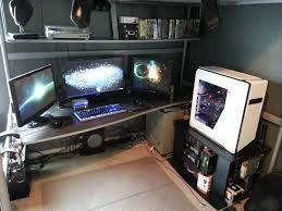 Awesome Gaming Desks Incredible Best Gamer Setups And Furniture Regarding Ultimate