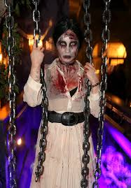 Scariest Celebrity Halloween Costumes Popsugar Celebrity