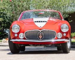 classic maserati for sale bonhams lands italian coachbuilt trio for quail sale classiccars
